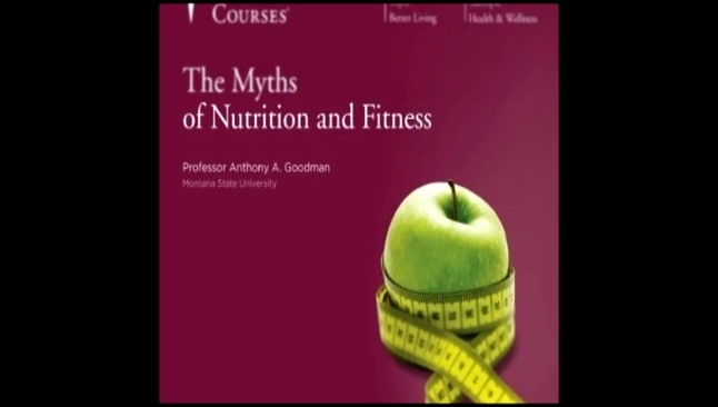 Anthony Goodman - The Myths of Nutrition and Fitness  [  Non fiction. Anthony A.  ] - видеоклип на песню