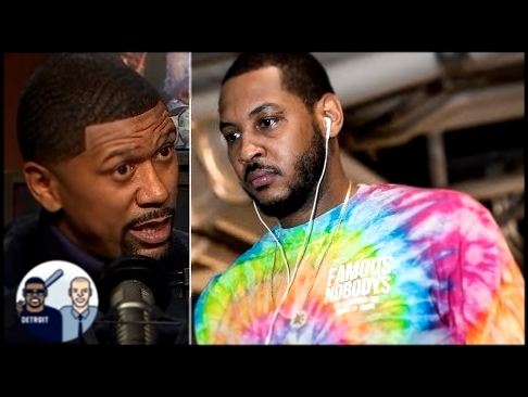 "<span aria-label=""Jalen Rose: I don't think Carmelo Anthony will play another NBA game 