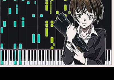 Abnormalize - Psycho-Pass (Opening 1) [Piano Tutorial] (Synthesia) // Dareru Piano - видеоклип на песню