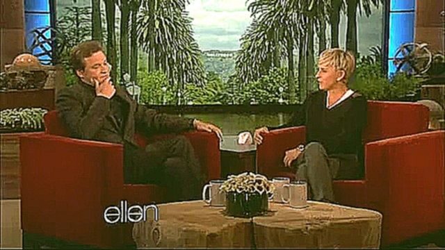 Funny Colin Firth about wearing spandex- Full Ellen DeGeneres Show - Jan 18, 2012 - видеоклип на песню
