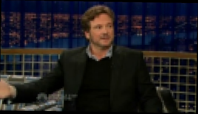 Funny Colin Firth ''Haunted by a Meatball'' - Conan O'Brien, June 2006 - видеоклип на песню