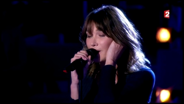 Carla Bruni - The Winner Takes It All (On n'est pas couché - 18.11.17) - видеоклип на песню