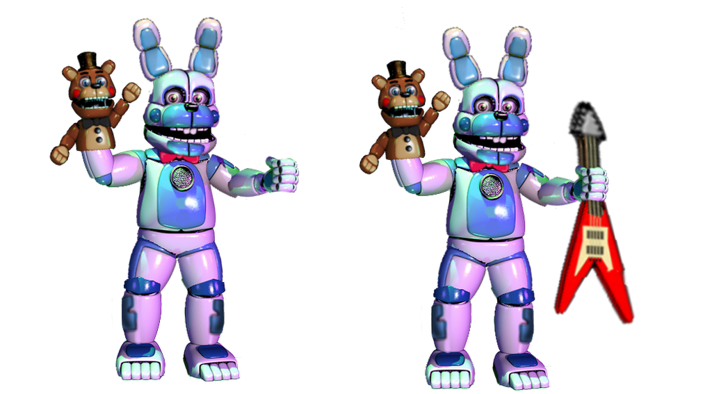 Funtime Spring Bonnie Join us for a bite (espanol)